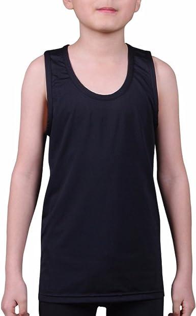 Slim-Fit Tank Top Hip Pop Undershirt for Youth /& Adult Men Boys