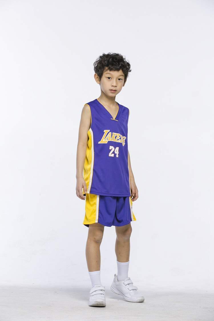 PANGOIE Kinder Madchen Basketball Anzug Jersey Basketballuniform Top /& Shorts
