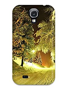 Hot Winter Night First Grade Tpu Phone Case For Galaxy S4 Case Cover