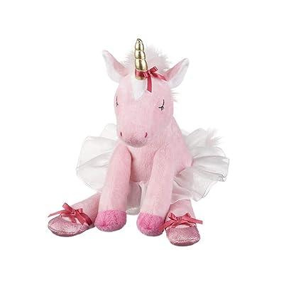 "Ganz Baby Girl Plush Stuffed Animal 9 inches Annabella Ballerina Unicorn Toy, Pink, 9"" H: Toys & Games"
