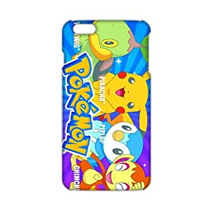 Angl 3D Case Cover Cartoon Pokemon Pikachu Phone Case for iPhone6 plus