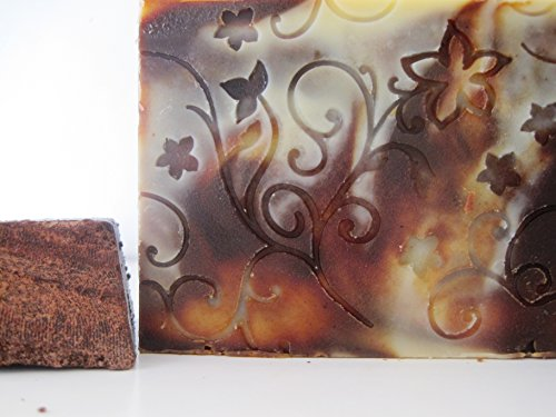 Chocolate Soap Loaf, All Natural, Creamy Lathering Soap, Cake Soap, Bath Gift, Fancy Soap, birthday gift, Vegan palm free soa
