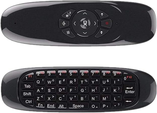 CMX Control Remoto inalámbrico de Teclado Multifuncional Mini ratón del Aire para Android TV Box/PC/Smart TV/HTPC/Xbox/Ordenador portátil, una función de giroscopio de 6 Ejes: Amazon.es: Hogar