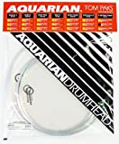 Aquarian Drumheads RSP2-B Response 2 Tom Pack 12, 13, 16-inch