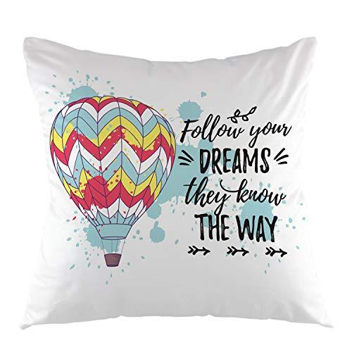 hot air balloon pillow - 8