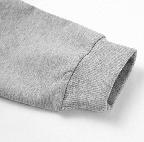 Sweatshirts Womens Drawstring Letter amp;S Gery M Hoodies amp;W Print Slim REwOxZ8q