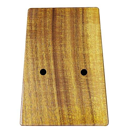 Gecko K17K 17 key Kalimba Solid KOA African Thumb Piano Finger Percussion Keyboard Kids Marimba Wood