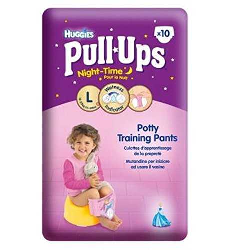 Huggies® Pull-Ups® Disney Princess Night-Time Girls Size 6 Potty Training Pants - 1 X 10 Pants