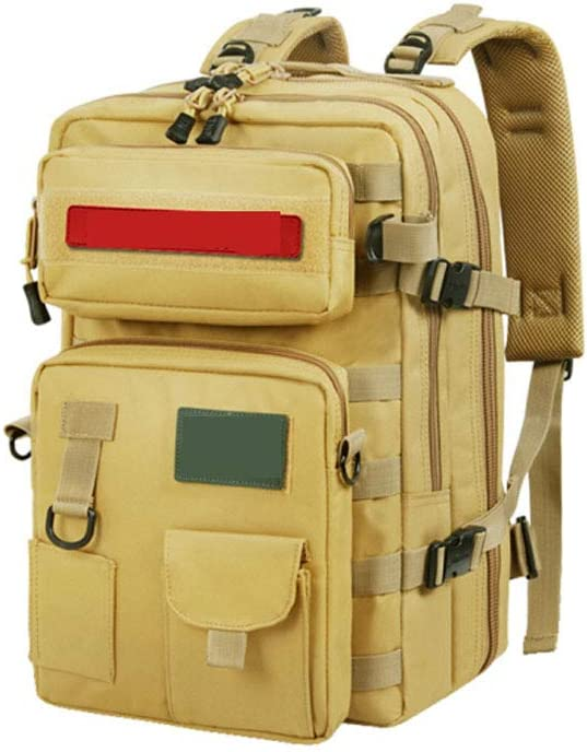 Beige Camping Fashion Combination Backpack Color : Beige Chenjinxiang01 Backpack for Man
