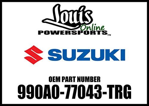 Suzuki 990A0-77043-TRG Touring Studded Leather Saddlebag