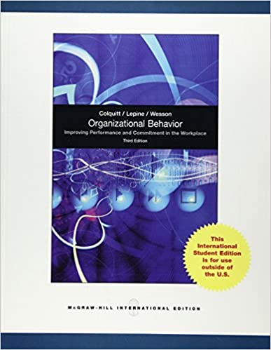 Organisational behaviour 9780071318112 human resources books organisational behaviour 3rd revised edition edition fandeluxe Image collections