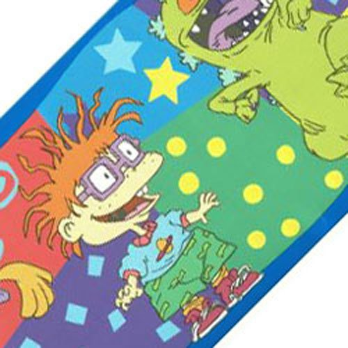 (New Nickelodeon Rugrats Chucky Tommy Wallpaper Border Roll - (Type of Product:Home decor-Wall Decor) -)