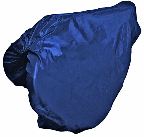 Derby Originals Nylon All Purpose English Saddle Cover, Navy ()