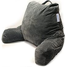 Reading Pillow Firm Back Support Bed Rest Chair Lounge Backrest for TV Watching Computer GERD Heartburn Bedrest