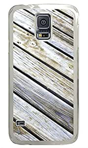 Samsung Galaxy S5 Wood Floor Texture PC Custom Samsung Galaxy S5 Case Cover Transparent