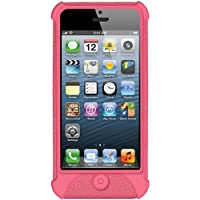 Amzer Silicone Jelly Skin Fit Case Cover for iPhone 5/ 5S, iPhone SE (Fits All Carriers) - Baby Pink