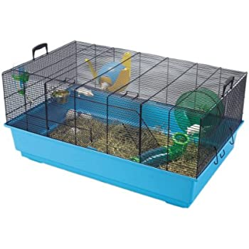 Amazon.com : Favola Hamster Cage | Includes Free Water Bottle, Exercise Wheel, Food Dish