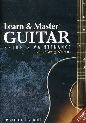 Learn & Master Guitar Setup And Maintenance 3-Dvd Set by Hal Leonard