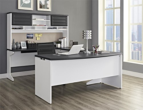 Altra Furniture Pursuit U-Shaped Desk wi - Home Office Furniture Shopping Results