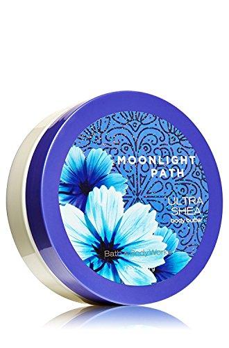 Lavender Vanilla Body Butter - Bath & Body Works Moonlight Path Ultra Shea Body Butter 7 Oz / 200 G
