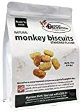 Monkey Biscuits (Standard, 3 lbs.) - Healthy & Crunchy Biscuit Treat for Prairie Dogs, Parrots, Squirrels, Sugar Gliders, Hamsters, Rats, Rodents, Amazons, Macaws, Cockatoos, Birds & Other Small Pets