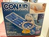 New Conair Deluxe Thermal Spa/ Model MBTS6NW/ Blue Mat
