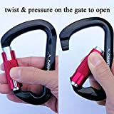 CARAPEAK 30kN Auto-Locking D Shaped Twist Lock