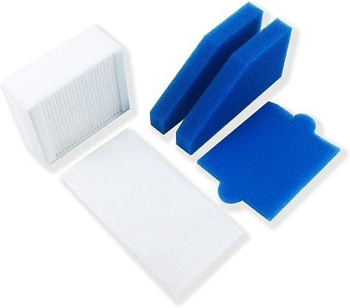 Blusea Filtro purificador de Aire Accesorios para aspiradoras para Kenmore, Cesto de Cubiertos, Filtro de Espuma, Palos de la Fragancia, Piezas de Repuesto, Micro Tools Universal para Aspiradora: Amazon.es: Hogar