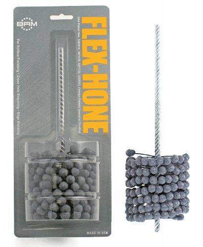 Grit Brush - Brush Research FLEX-HONE Cylinder Hone, GB Series, Silicon Carbide Abrasive, 3-1/4