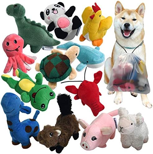 squeaky-plush-dog-toy-pack-for-puppy