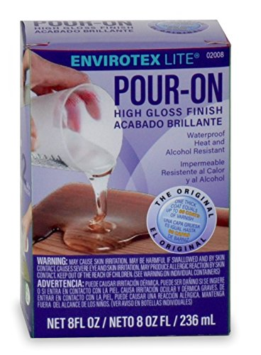- Environmental Technology 8-Ounce Kit Lite Pour-On, High Gloss Finish