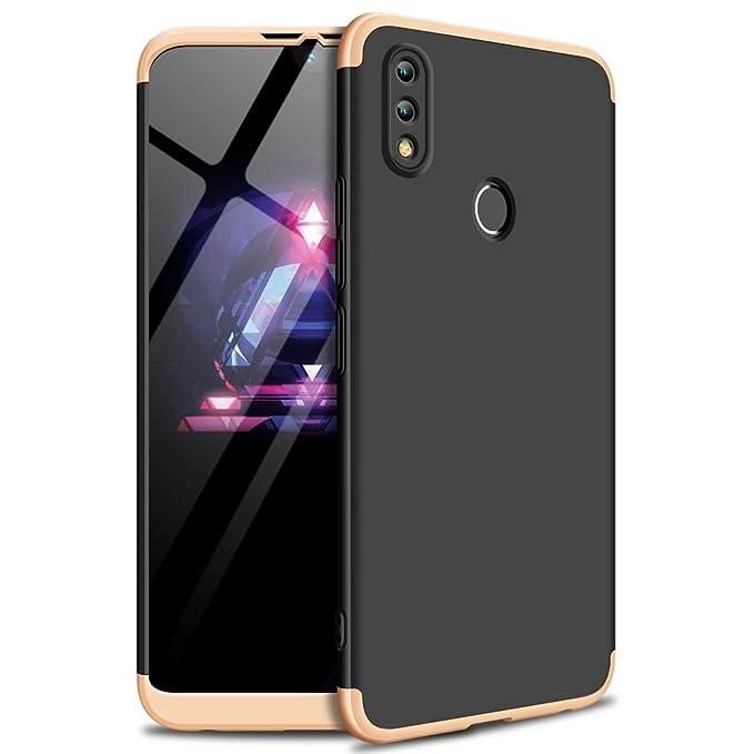 xinyunew Funda Huawei Honor 8X,360 Grados Protección Case + Pantalla de Cristal Templado,3 in 1 Anti-Arañazos Carcasa Case Caso Fundas teléfonos Móviles ...