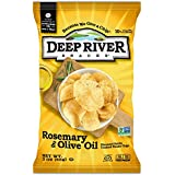 Deep River Snacks Rosemary & Olive Oil Kettle Cooked Potato Chips, 2-Ounce (Pack of 24)