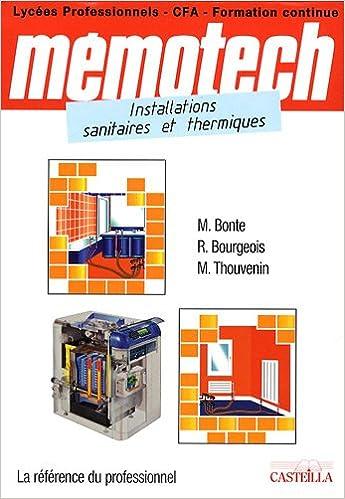 mémotech installations sanitaires et thermiques pdf gratuit