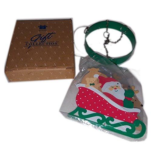 Avon Santa's Flight Christmas Windchime