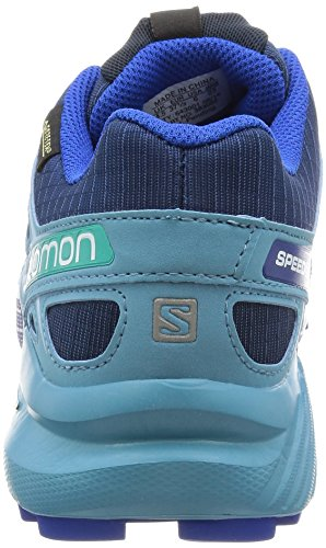 Salomon Blue Running Gum Depth Yonder Trail para Mujer de L38308200 Blue Blue Zapatillas Azul gS6wqrRg