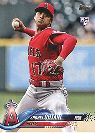Image result for 2018 topps update us1 shohei ohtani