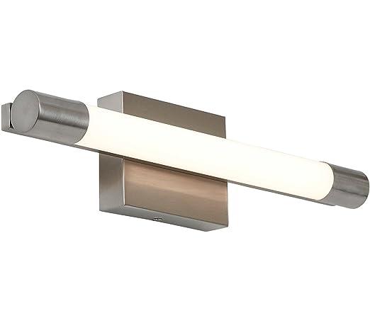 led vanity light bar narrow vanity new slim line modern frosted bathroom vanity light fixture contemporary sleek dimmable led cylinder bar