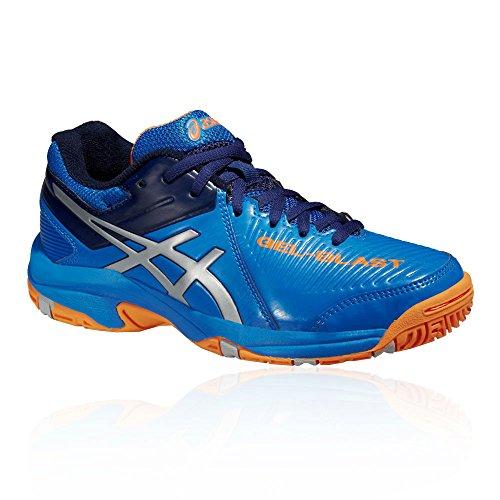 Asics Gel-Blast 6 Gs, Unisex Kids' Multisport Indoor Shoes Blue