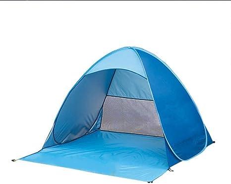 Sol Protección Tienda de campaña, plegable portátil bebé juguete tienda de campaña, tienda de campaña para la playa y sol refugio para Camping pesca Picnic – Protección UV por feierna: Amazon.es: Deportes