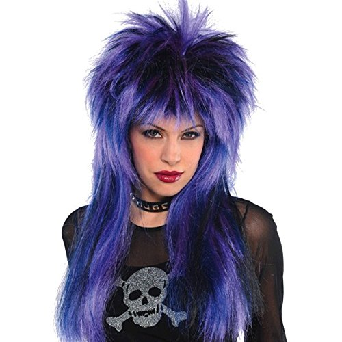 80s Rock Steady Wig Costume Accessory (80s Punk Rock Halloween Costumes)
