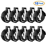 uxcell 10Pcs Coin Cell Button Battery Holder Socket for CR2016/2025/2032