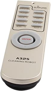 Universal Remote Control for A325 Automatic Robot Vacuum Cleaner White 1PC