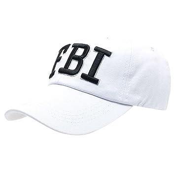 104a18b0ba4a3 Btruely Herren Gorra de beisbol de letras impresión  quot FBI quot