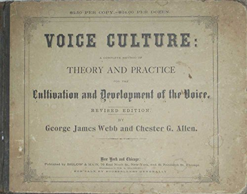 VOICE CULTURE THERORY AND PRACTICE