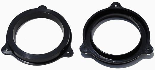 Exact Fit For Select Infiniti /& Nissan Vehicles SAK050/_55875-1 Pair Speaker Adapter Spacer Rings