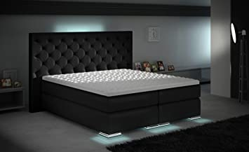 Boxspringbett design  Amazon.de: XXXL Royal Boxspringbett Designer Boxspring Bett LED ...