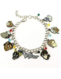 Voltron Charm Bracelet Quality Cosplay Jewelry Cartoon TV Series with Gift Box