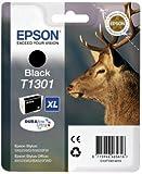 1x Cartouche d'encre Originale pour Imprimante Epson Stylus SX525WD - Noir- Haute Capacité