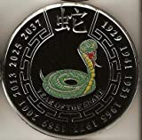 Black Year of the Snake Poker Weight